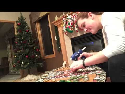 Beer Bottle Cap Table Top Time Lapse