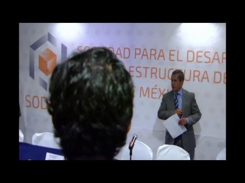 Conferencia de prensa presentaciòn SODIEM