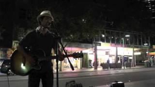 singing of song is Sukiyaki at Swanston st.