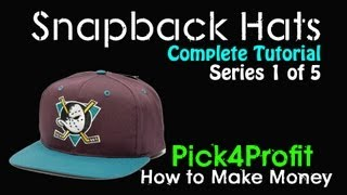 How To Find And Sell Snapback Hats For Profit | Series 1 Of 5 | Tutorial