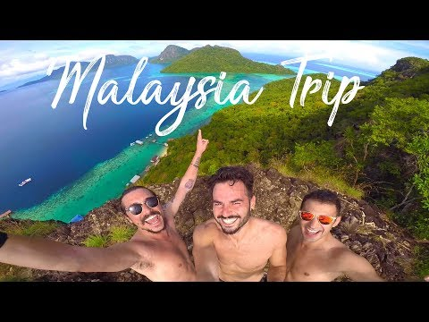 MALAYSIA SINGAPORE BORNEO TRIP | GoPro HERO 4 | Travel | 2016 2017