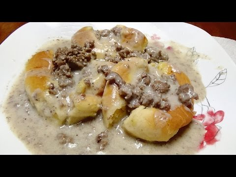 Recipe for Hamburger Gravy - Southern Comfort Food Recipe