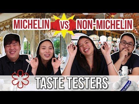 MICHELIN VS NON-MICHELIN TASTE TEST! | Taste Testers | EP 11