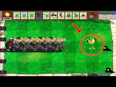 9999 Digger Zombie vs Peashooter Hack PvZ Plants vs Zombies