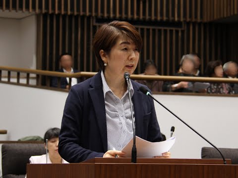 令和元年湯沢市女性議会 一般質問⑥ 高橋玲子議員