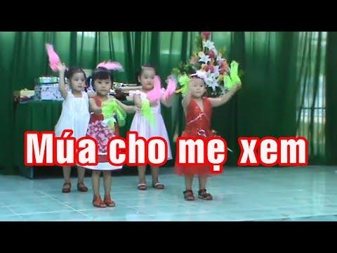 Tổng kết trường mầm non Hồng Vân 2012 - 15 - Múa cho mẹ xem