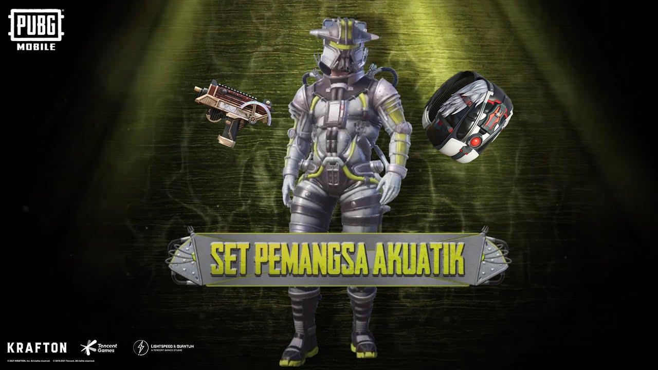 Set Pemangsa Akuatik kini tersedia! 👹   PUBG MOBILE MALAYSIA