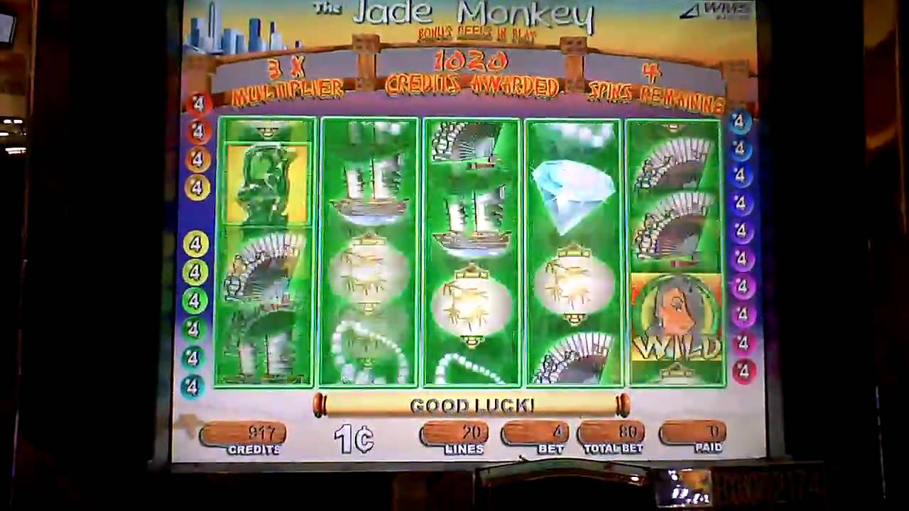 Jade Monkey Slot Machine