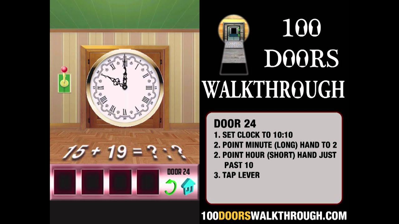 100 Doors X - Door 24 Walkthrough iPhone | 100 Doors X 24 | 100 Doors Walkthrough Cheats & 100 Doors X - Door 24 Walkthrough iPhone | 100 Doors X 24 | 100 ...