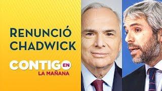 Gonzalo Blumel remplazará a Andrés Chadwick en el Ministerio del Interior