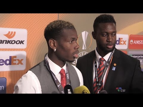 Paul Pogba Interview - Europa League Final - Won't Speculate On Rooney's Future
