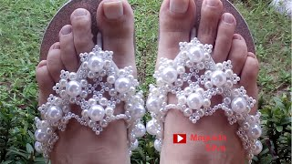 Chinelo Luxo para Noiva Chique Por Maguida Silva