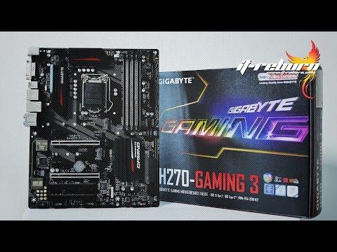 รีวิว Gigabyte H270 Gaming 3 เกิดมาเพื่อฆ่า Z270!!