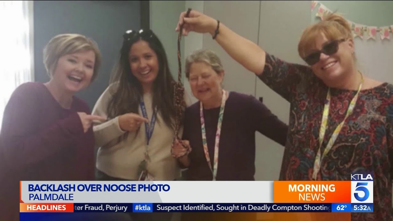 Principal, 4 Teachers in Palmdale Placed on Leave After Posing for Photo With Noose