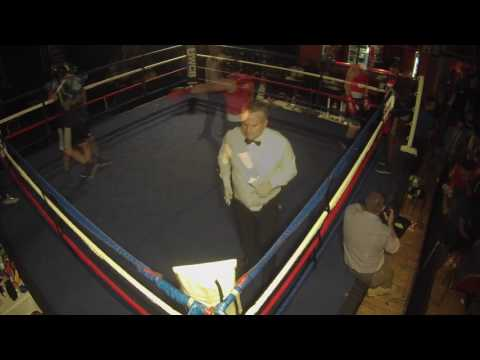 Ultra White Collar Boxing | Liverpool | Kevin Wray VS Billy Foxcroft