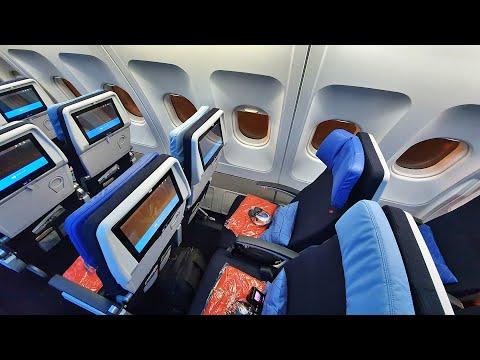 BRAND NEW AIR FRANCE CABIN! | WASHINGTON-PARIS | AIRBUS A330 | ECONOMY CLASS