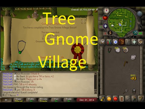 OSRS Quests  - Tree Gnome Village