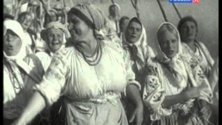 """Женский хор и оркестр ГАБТ СССР - Марш женских бригад (OST """"Богатая невеста"""", 1937)"""
