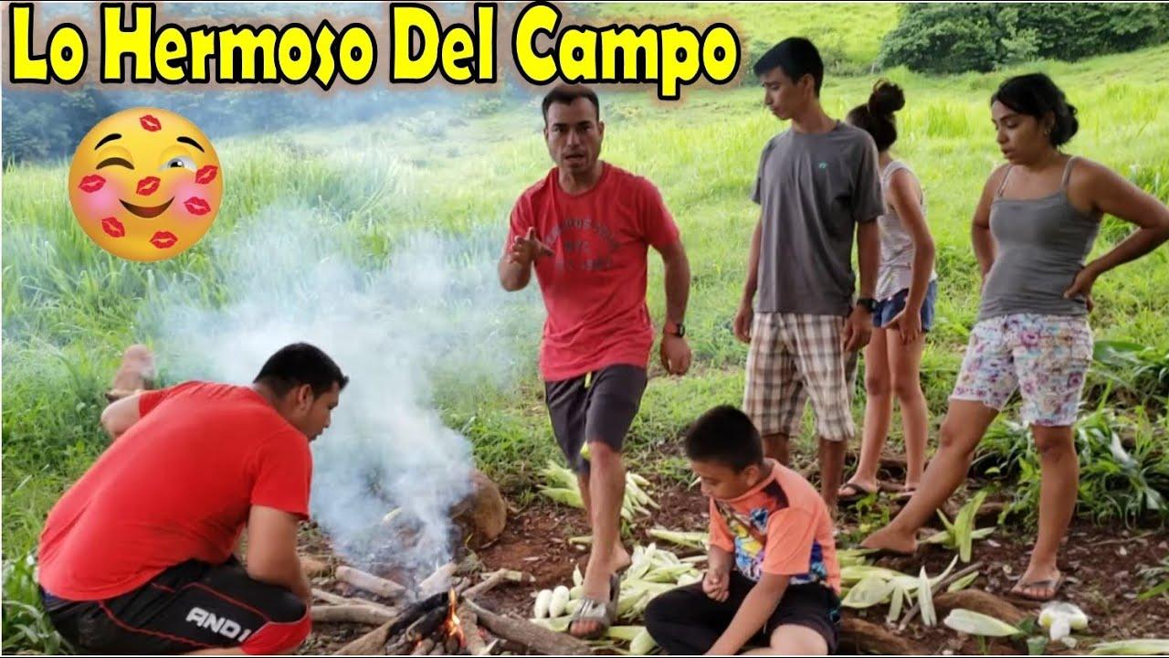-Asando Los Elotes En El Guatal, 🌽Así Los Disfrutamos En Familia En Nuestro El Salvador-P5