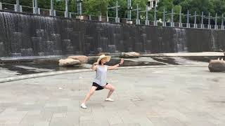 Played Tai Chi by the Thousand Island Lake in Zhe Jiang , China June 2019