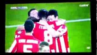Gol de De Marcos Athletic de Bilbao - Osasuna 2-0 23/08/2013