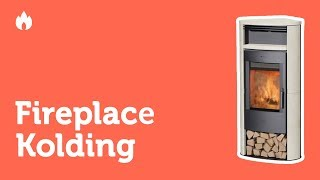 Видео обзор печь камина Fireplace Kolding Keramic. Описание, комплектация...