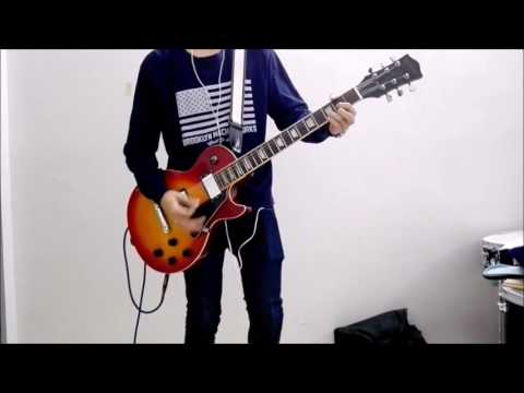 Diver-Nico touches the walls (naruto shippuden opening 8) guitar cover