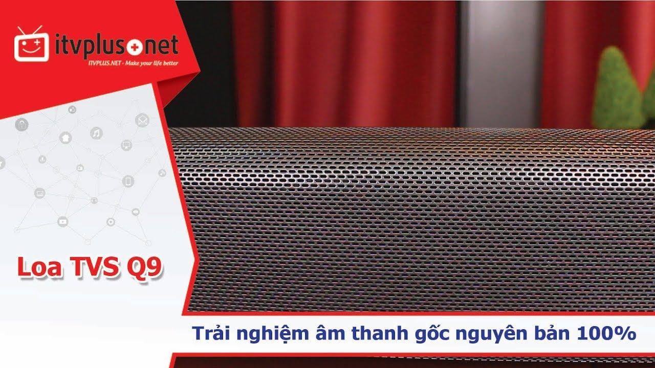Loa nghe nhạc Bluetooth TVS Q9 I Trải nghiệm âm thanh nguyên gốc