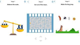 Easy Game Brain Test Daily Challenge 17 July 2020 Stage 1,2,3 Solution