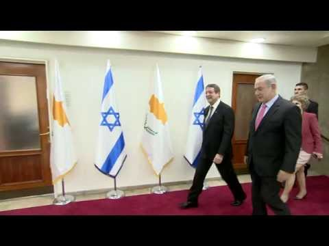PM Netanyahu Meets President of Cyprus Anastasiades