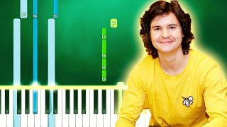Lukas Graham - HERE (For Christmas) (Piano Tutorial Easy) By MUSICHELP