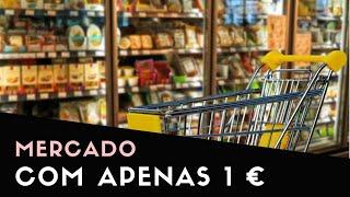 🛒 MERCADO NA ITÁLIA COM 1 EURO
