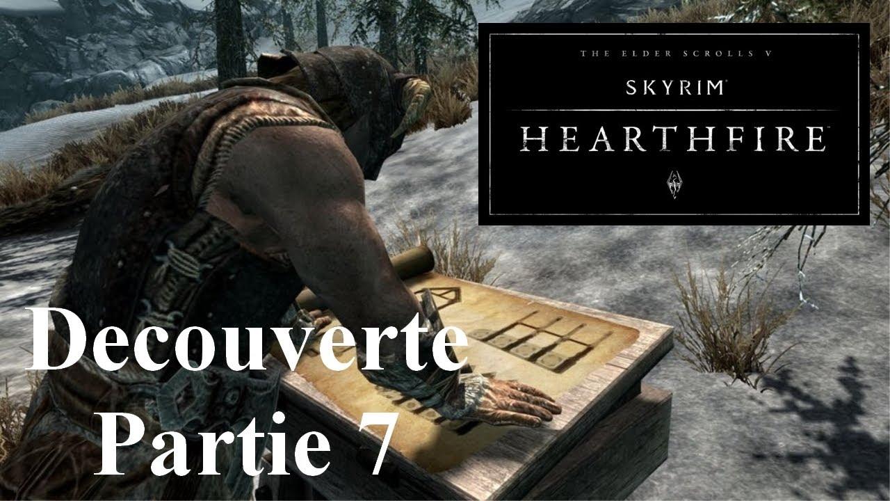 Skyrim Hearthfire Fr Guide Découverte Gameplay Part 7 Adopter Maison Morthal Alivinière