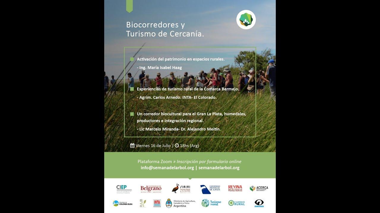 """Aquí nuestro #5 Encuentro del Ciclo """"Biocorredores y Turismo de Cercanía!"""