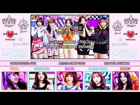 "Sunny Girls (써니걸스) ""TAXI"" [COLOR CODED] [ROM SUBESPAÑOL LYRICS]"