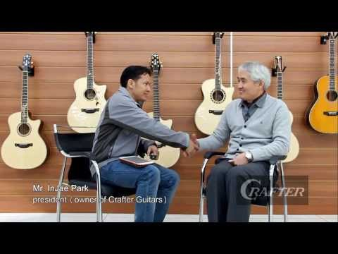 Crafter Guitars Factory Tour (at Korea) : by AcousticThai.Net
