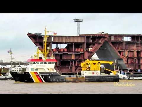 NORDEN DBDG MMSI  211265910 Emden Germany buoy laying vessel Tonnenleger