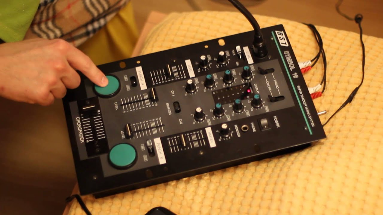 DJ Mixer BST Symbol 15 - YouTube  DJ Mixer BST Sy...