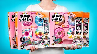 Unboxing Koleksi Lengkap Donat Poopsie Slime Smash!