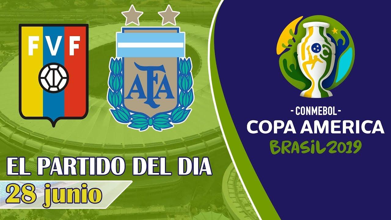 34 37 MB] Copa América 2019 - VENEZUELA vs ARGENTINA | Cuartos de
