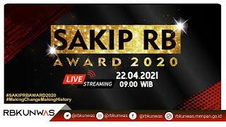 LIVE : SAKIP RB AWARD 2020 PEMERINTAH PROVINSI/KABUPATEN/KOTA
