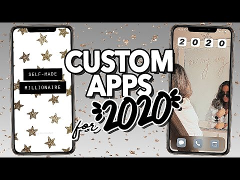 Custom iPhone App Layouts for 2020! (CHANGE APP ICONS)
