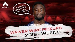 Week 8 Waiver Wire Pickups   Corey Davis, Dallas Goedert   2019 Fantasy Football