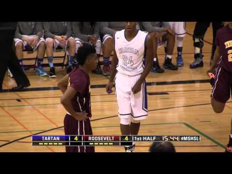 High School Boys Basketball: Tartan vs. Minneapolis Roosevelt