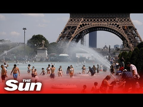 France Reaches It Highest Temperature Ever During Europe's Heatwave