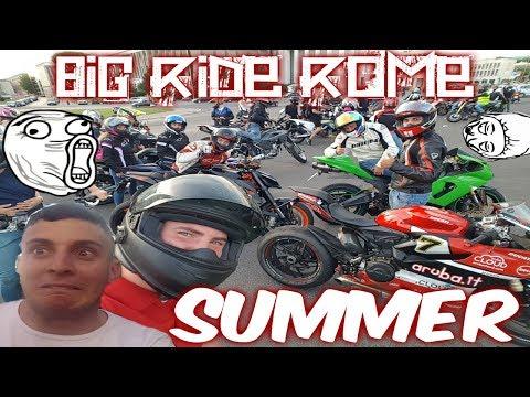 Big Ride Roma Edizione Estate. Lo hai detto, adesso me la dai!😍 + di 1000 Persone, a chi rompono!?😡