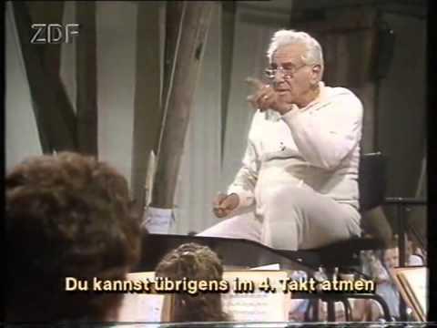 Leonard Bernstein in Salzau - Proben zu Schostakowitsch Symphonie Nr. 1 (VHS)