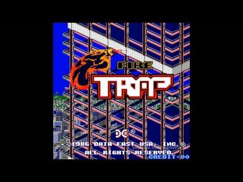 Fire Trap 1986 Data East Mame Retro Arcade Games