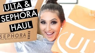 HUGE ULTA & SEPHORA HAUL!!! | BeautyyBird