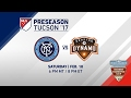 NYCFC vs Houston Dynamo | Desert Diamond Cup 2017 | LIVE